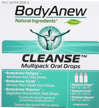 Load image into Gallery viewer, BodyAnew™ Homeopathic Cleanse Multipack Oral Drops Kit -- 1 Kit