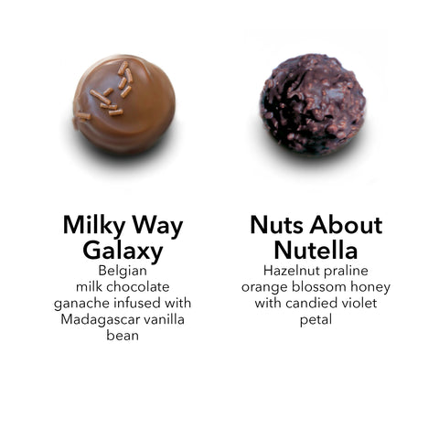 milk chocolate truffle / Nutella truffle