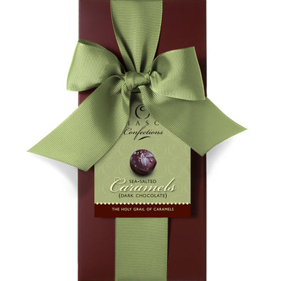 Sea Salted Caramels-Dark Chocolate