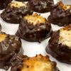 Chocolate Dunked Coconut Macaroon