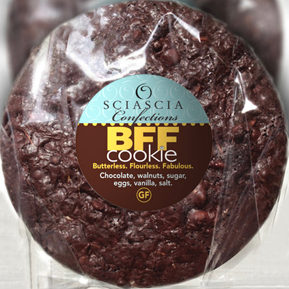 BFF Cookie: Butterless. Flourless. Fabulous.