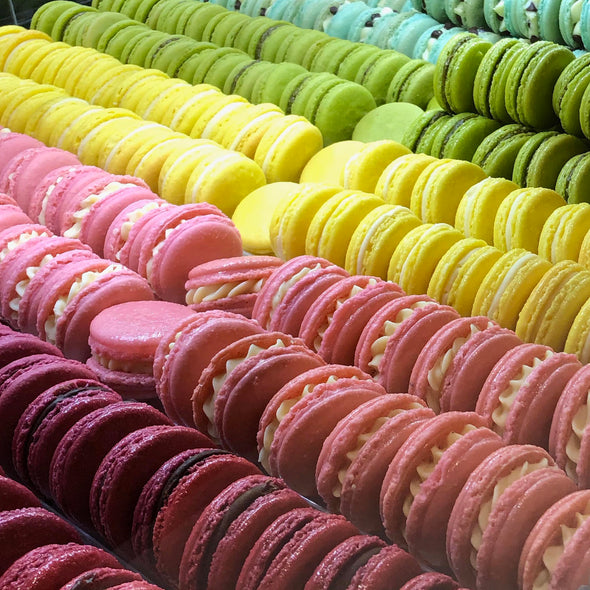 12 Assorted Macarons