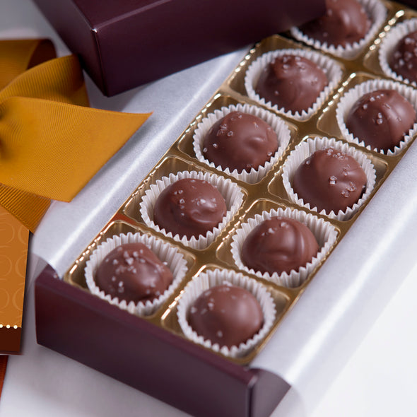 Sea Salted Caramels-Milk Chocolate