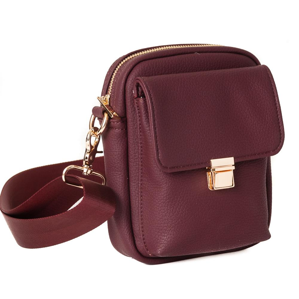Ebba City Bag Plomme