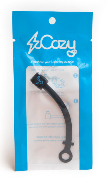 LightningCozy - Legacy secure Apple Lightning to Micro USB adapter easy gadget and solution for not getting lost adapters charging syncing all Apple devices iPods iPads iPhones Kindles and Androids