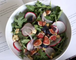 ARUGULA SEASONAL SALAD - 9X9