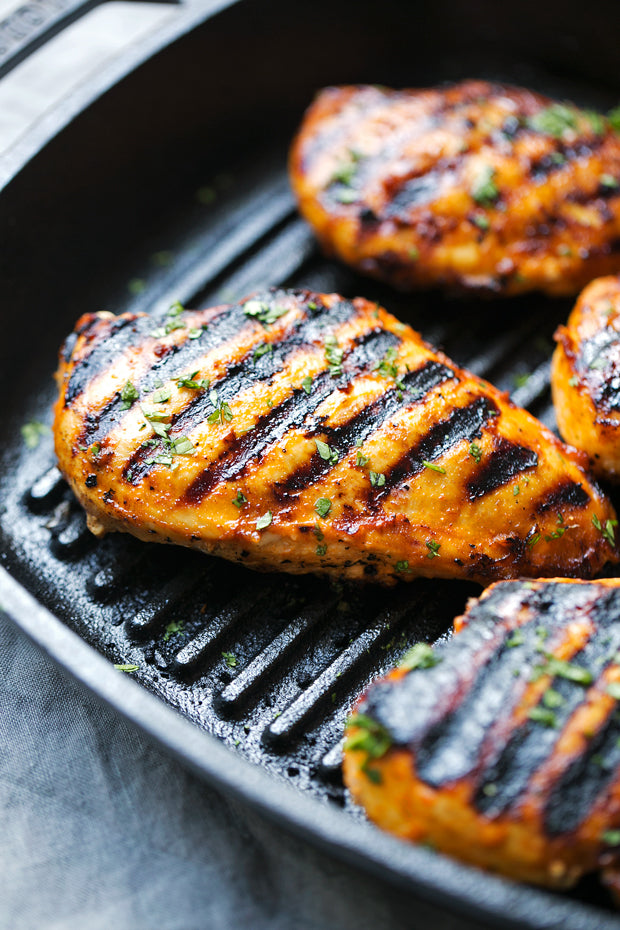 ASIAN MARINADE GRILLED CHICKEN BREAST - 2 PIECES