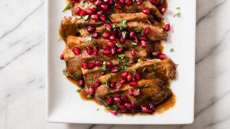 BRAISED POMEGRANATE BRISKET - 1LB