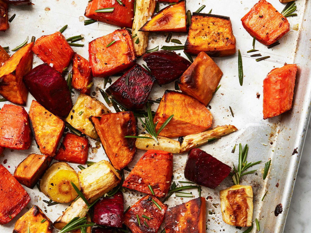 AUTUMN ROOT VEGETABLE MEDLEY - 1 PINT