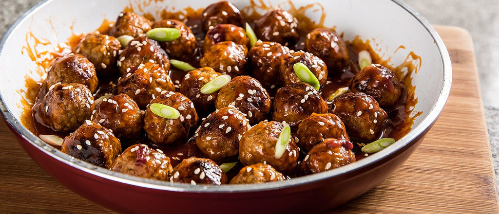 SWEET AND SOUR MEATBALLS - 1 QT