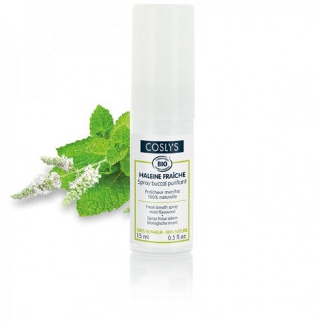 Spray buccal purifiant MENTHE BIO