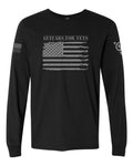 "Guitars for Vets ""Freedom Flag"" Long Sleeve"