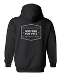 Guitars for Vets Hooded Sweatshirt
