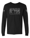 "Guitars for Vets ""Platoon"" Long Sleeve"