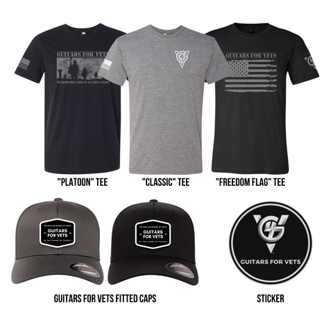 "Guitars for Vets ""Spring Special"" Bundle"