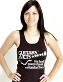 Guitars for Vets 5 Star Ladies Tank