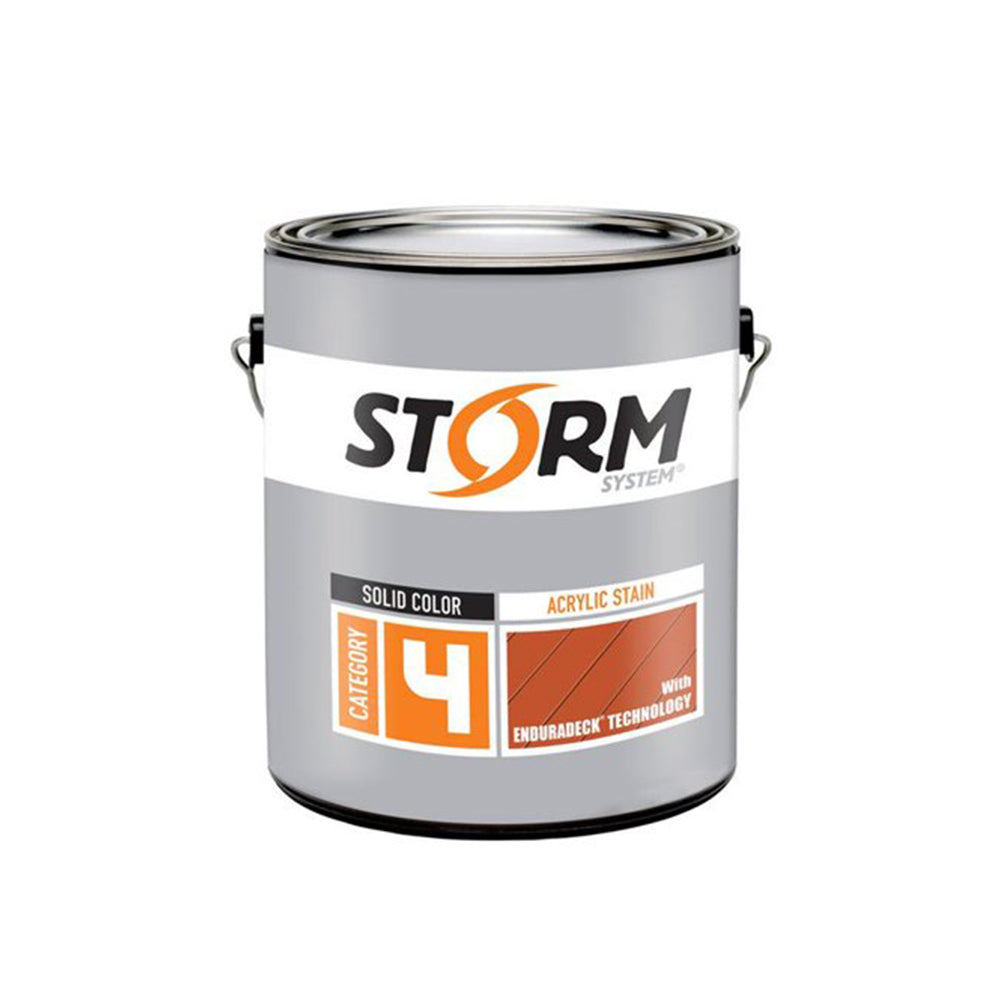 Storm System Acrylic Solid Stain with Enduradeck