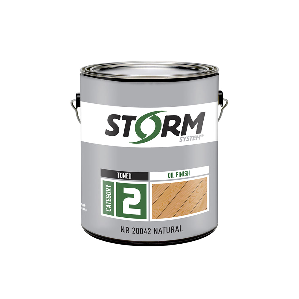 Storm System Toned Oil Finish