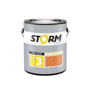 Storm System Semi-Solid Alkyd Linseed Oil Finish
