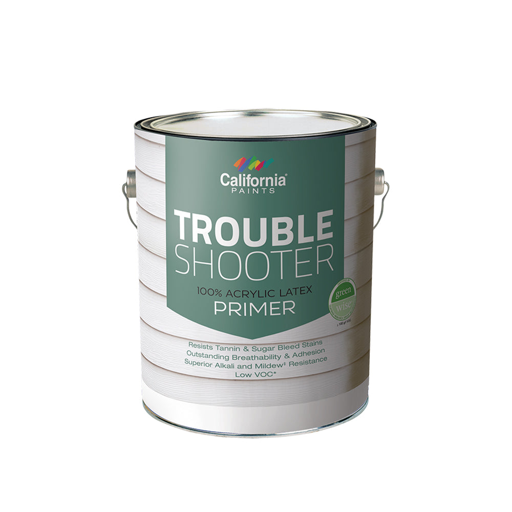 Trouble Shooter 100% Acrylic Latex Wood Primer