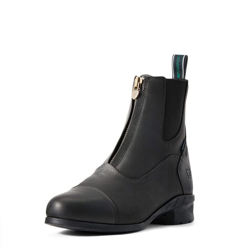Womens Heritage IV Zip H2O Insulated Black