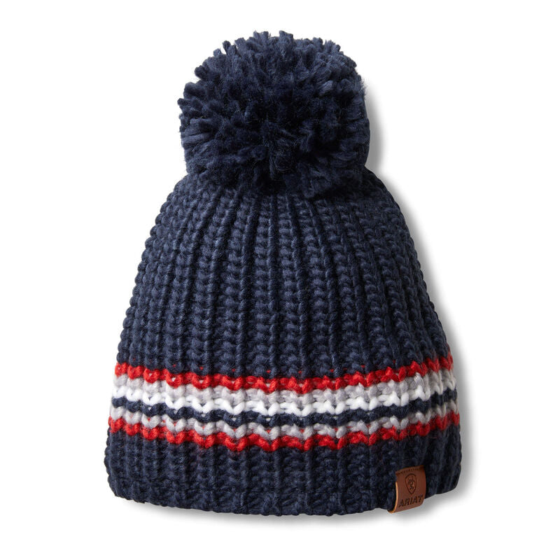 Womens Salem Beanie Team Stripe