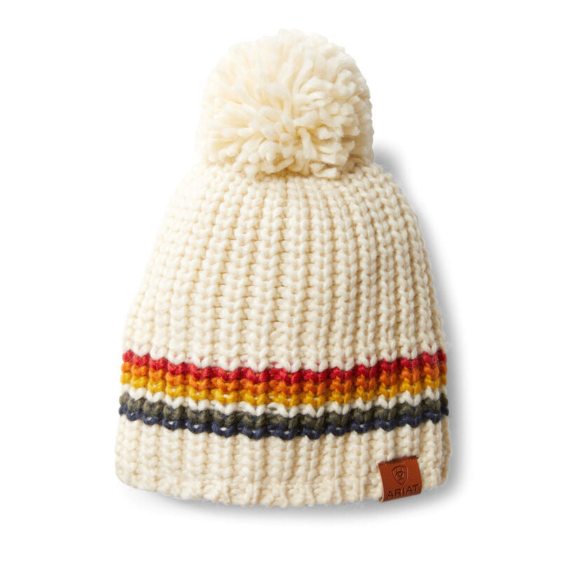 Womens Salem Beanie Circus Stripe
