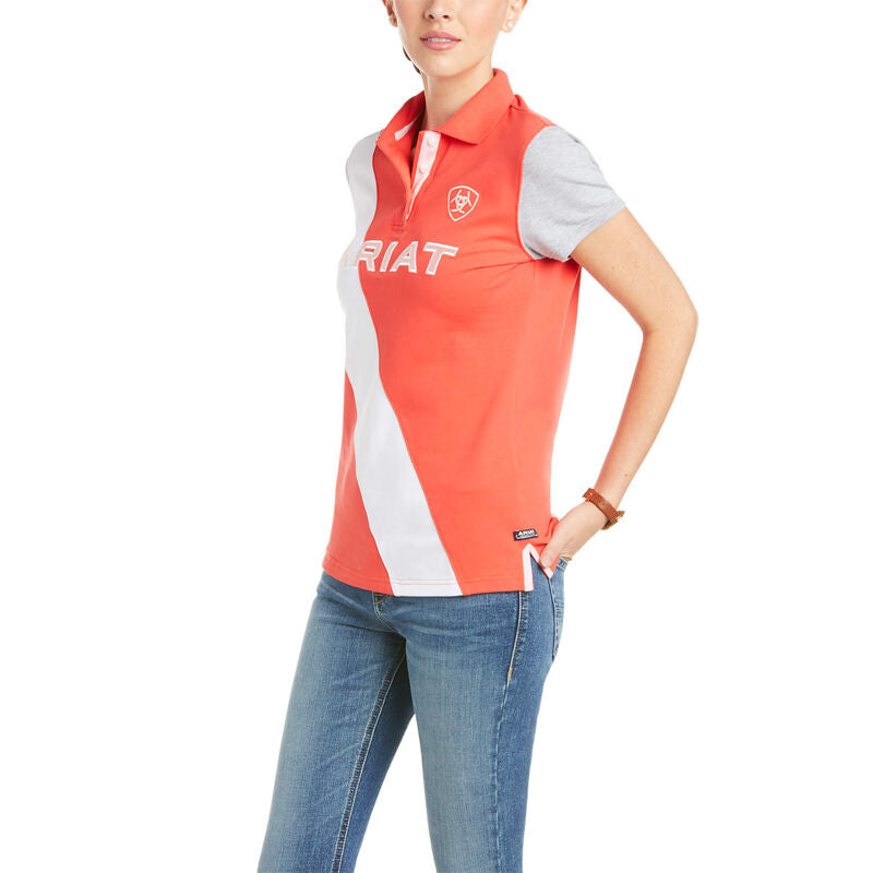 Womens Taryn Button Polo