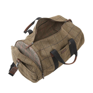 Clark Duffle - Brown Tweed