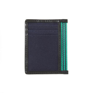 Card Case with Bottle Opener - Navy Canvas