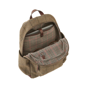 Clark Backpack - Brown Tweed