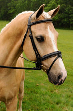 Load image into Gallery viewer, Chateau Dressage Bridle with Calfskin Covered Reins