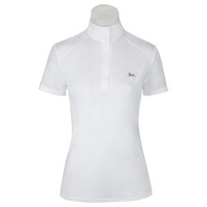 Womens Aerial White Short Sleeve