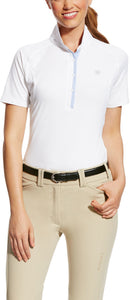 Womens Marquis White Short Sleeve