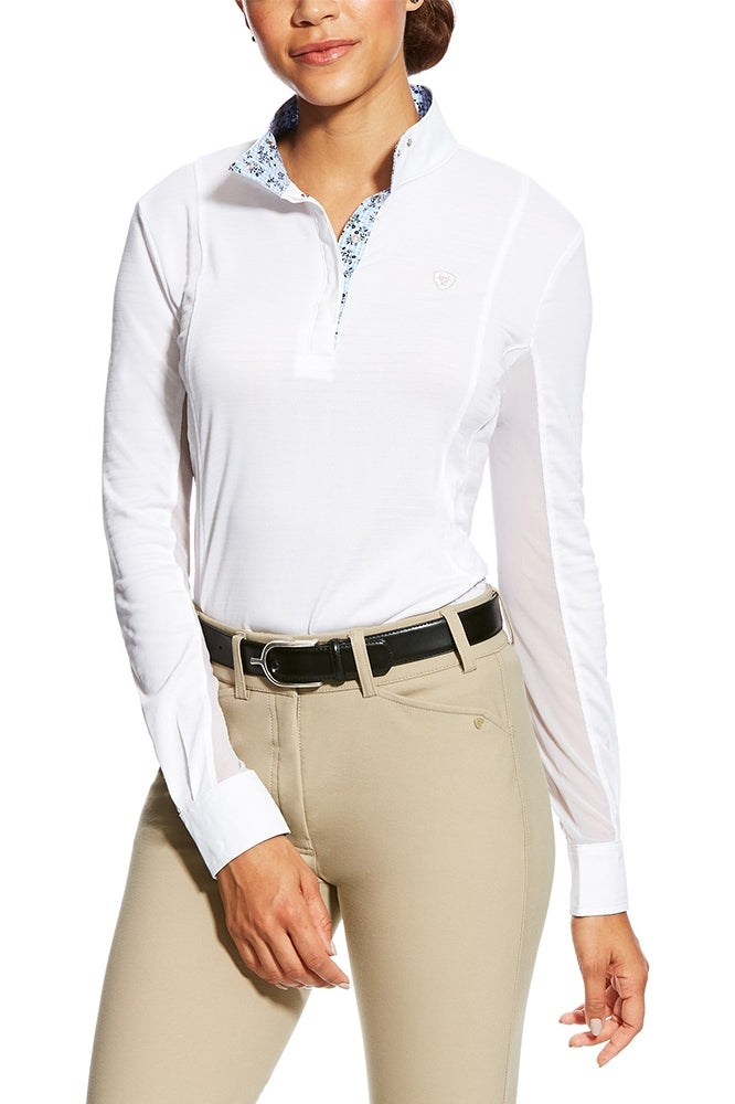 Womens Marquis Vent White Volte Long Sleeve