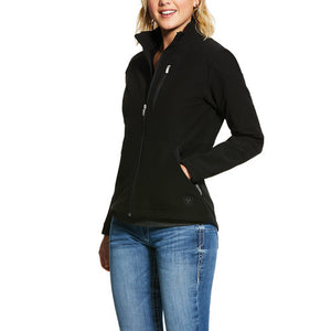 Womens Zero G Water Resistant Softshell Jacket Black