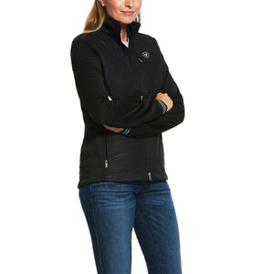 Womens Hybrid Insulated Water Resistant Jacket Black