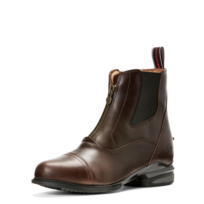 Womens Devon Nitro Zip Waxed Chocolate