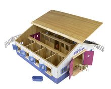 Load image into Gallery viewer, Breyer Farms Deluxe Wood Stable Playset