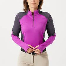 Load image into Gallery viewer, Womens Chestnut Bay Performance Rider Quarter Zip