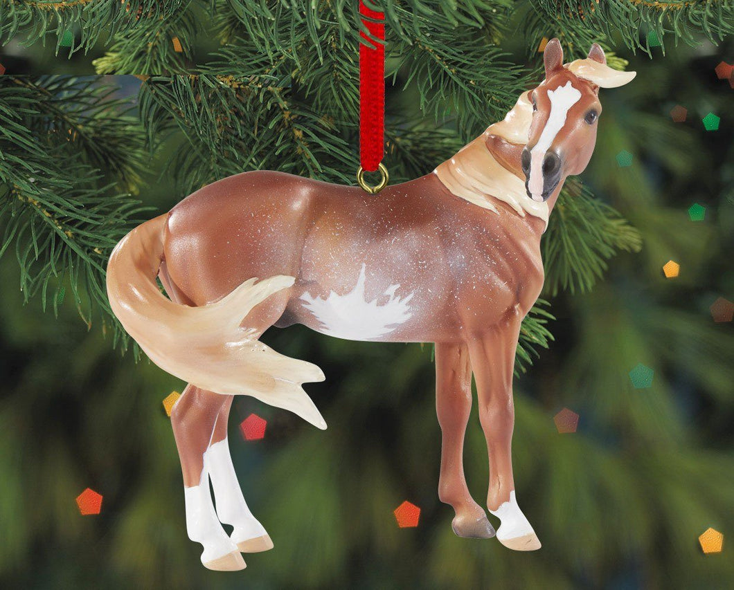 Mustang Beautiful Breeds Ornament