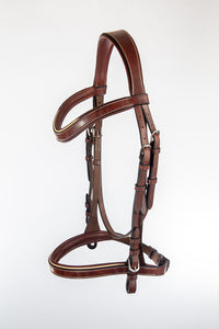 Classique Anatomical Bridle with Flat Rubber Reins