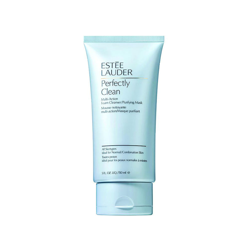 ESTEE LAUDER - Perfectly Clean Foam Cleanser  150ML תכשיר ניקוי
