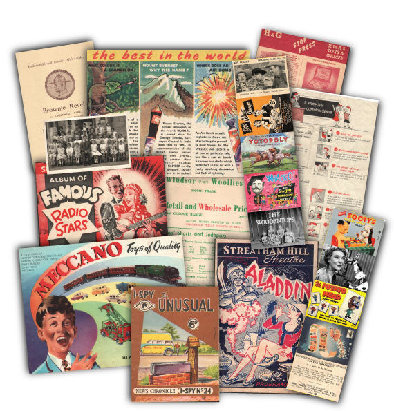 1950s Childhood: Replica Document Pack