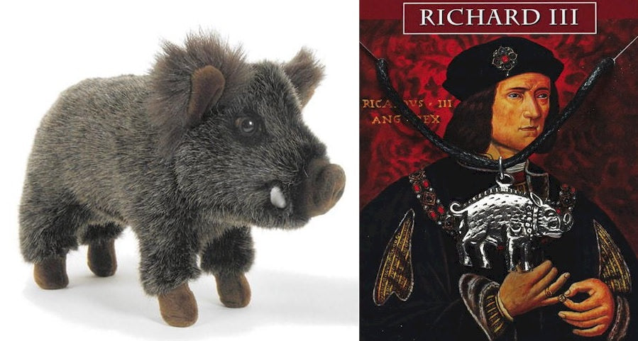 Richard III Wild Boar Plush Soft Toy