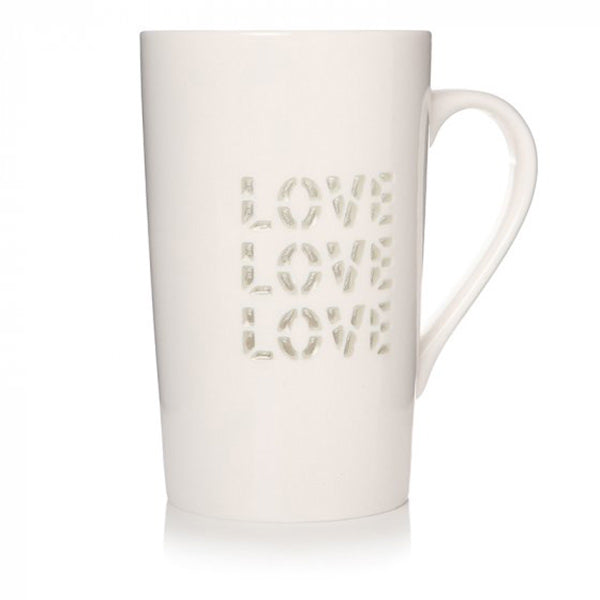 Love Cut Out Latte Mug