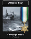 Atlantic Star: Miniature Replica Medal