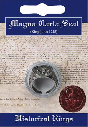 King John's Seal Replica Ring