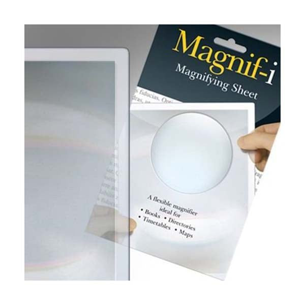 Magnifying Sheet Half Page