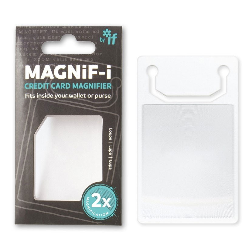 Credit Card Magnifier
